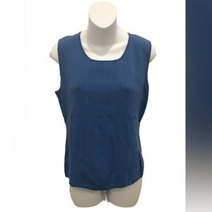 Chico's Blue Sleeveless Top